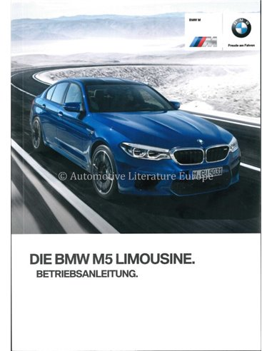 2017 BMW 5 SERIES LIMOUSINE OWNERS MANUAL GERMAN