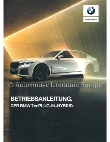 2019 BMW 7 SERIE PLUG-IN-HYBRID INSTRUCTIEBOEKJE DUITS