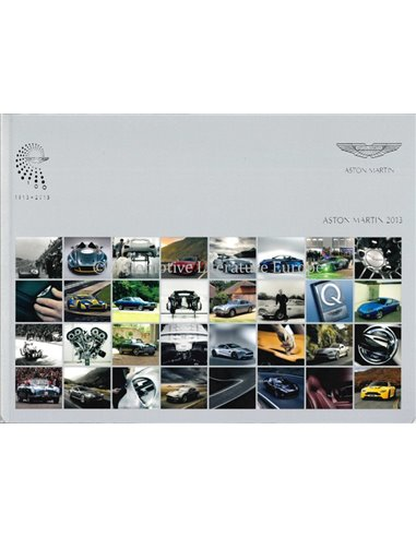 2013 ASTON MARTIN RANGE BROCHURE ENGLISH
