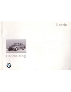 1994 BMW 3 SERIES OWNERS MANUAL HANDBOOK DUTCH