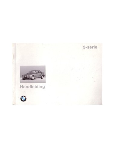 1994 BMW 3 SERIE INSTRUCTIEBOEKJE NEDERLANDS