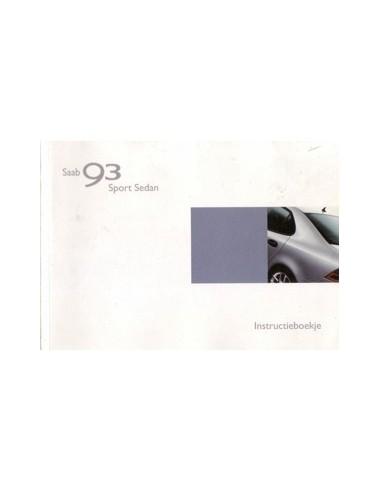 2002 saab 9 3 sport sedan owners manual handbook dutch automotive rh autolit eu 2002 saab 9-5 owner's manual Owner's Manual