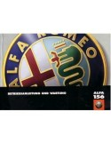 1998 ALFA ROMEO 156 INSTRUCTIEBOEKJE DUITS