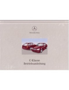 2001 MERCEDES BENZ C CLASS OWNERS MANUAL GERMAN