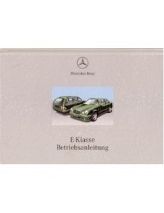 2000 MERCEDES BENZ E CLASS OWNERS MANUAL HANDBOOK GERMAN