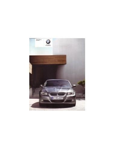 2008 BMW 3 SERIE INSTRUCTIEBOEKJE ENGELS
