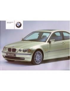 2001 BMW 3 SERIEN COMPACT BETRIEBSANLEITUNG FRANZOSISCH