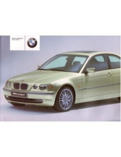 2001 BMW 3 SERIES COMPACT OWNERS MANUAL HANDBOOK FRENCH