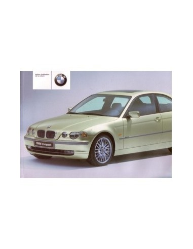 2001 BMW 3 SERIE COMPACT INSTRUCTIEBOEKJE FRANS