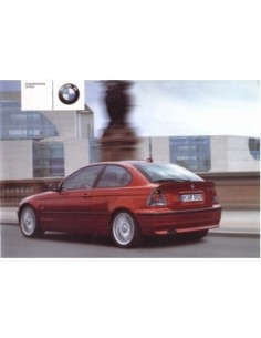2001 BMW 3 SERIES COMPACT OWNERS MANUAL HANDBOOK DANISH