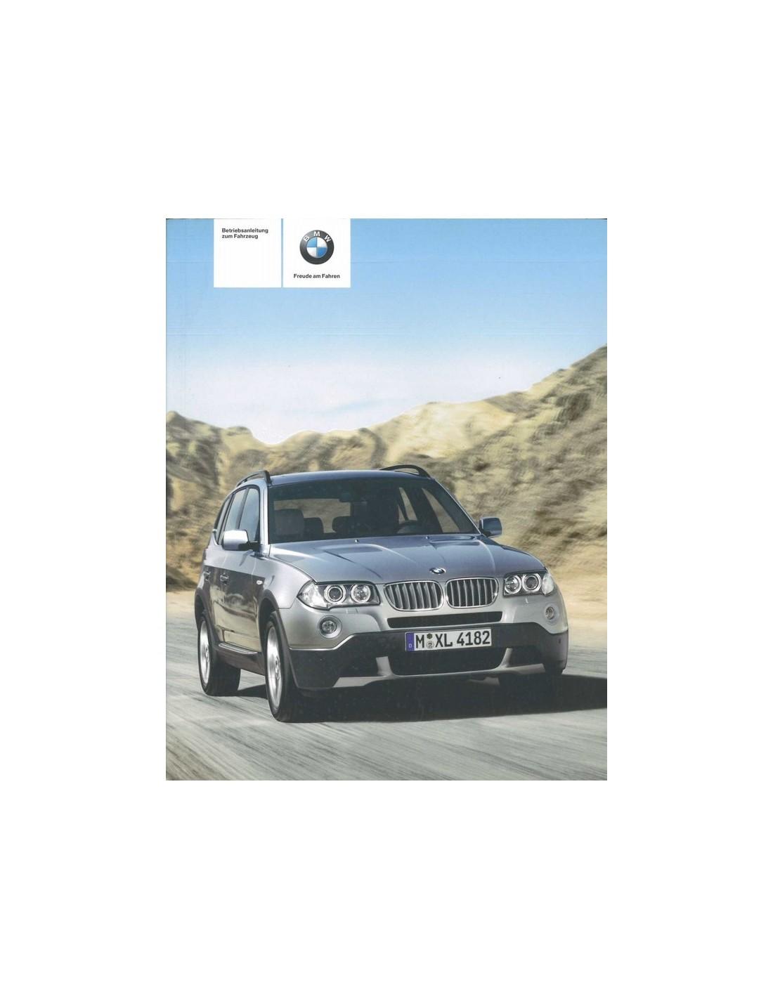 2008 bmw x3 owner s manual german rh autolit eu bmw x3 2006 car manual 2008 BMW X3