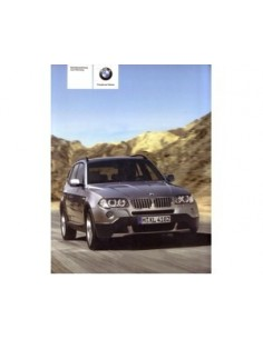 2008 BMW X3 OWNERS MANUAL HANDBOOK GERMAN