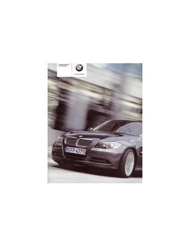 2004 BMW 3 SEDAN INSTRUCTIEBOEKJE DUITS