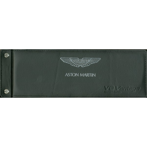 2008 Aston Martin V8 Vantage Owners Manual Handbook English border=
