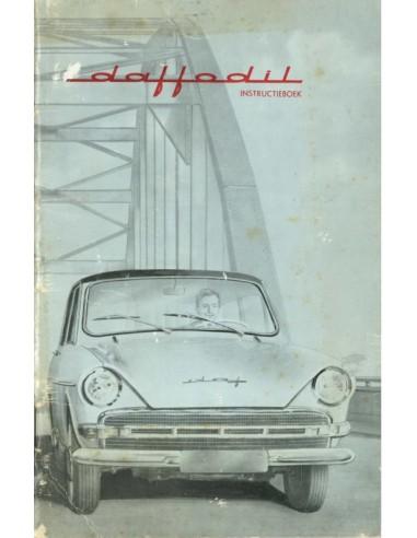 1963 DAF DAFFODIL OWNERS MANUAL DUTCH