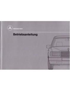1989 MERCEDES BENZ E CLASS DIESEL OWNERS MANUAL HANDBOOK GERMAN