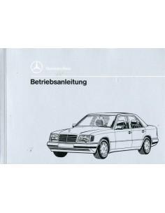 1993 MERCEDES BENZ E CLASS DIESEL OWNER'S MANUAL GERMAN