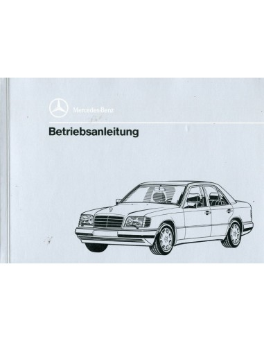 1993 mercedes benz e class diesel owner 39 s manual german for Mercedes benz e class manual