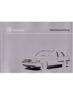 1996 MERCEDES BENZ C CLASS COMBI OWNERS MANUAL GERMAN