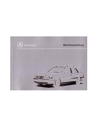 1996 mercedes benz c class combi owners manual german automotive rh autolit eu 1996 mercedes benz c220 repair manual 1996 Mercedes C220 Transmission
