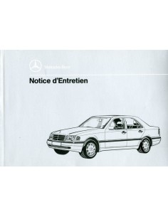 1996 MERCEDES BENZ C CLASS OWNERS MANUAL FRENCH