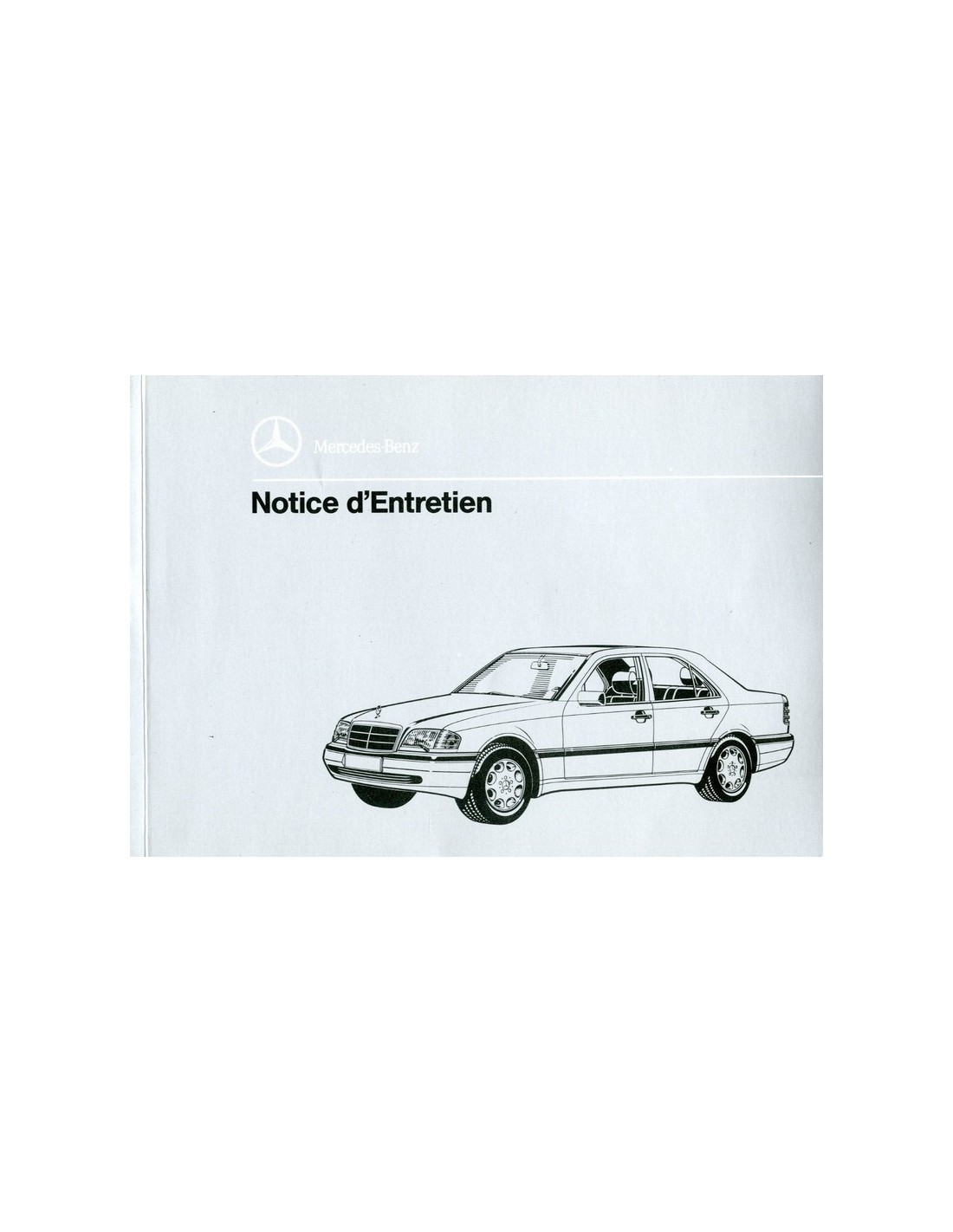 1996 mercedes benz c class owners manual french for Mercedes benz c class owners manual