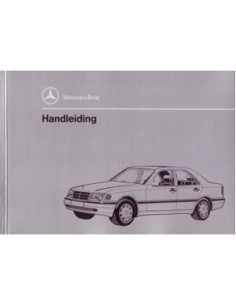 1994 MERCEDES BENZ C KLASSE INSTRUCTIEBOEKJE NEDERLANDS