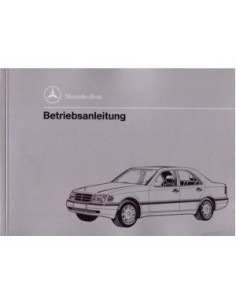 1993 MERCEDES BENZ C CLASS OWNERS MANUAL GERMAN