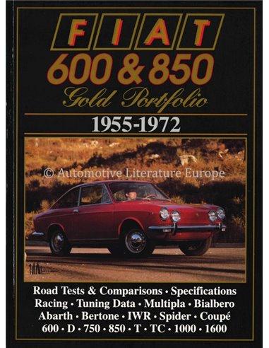 FIAT - 600 & 850 - GOLD PORTFOLIO - BROOKLANDS - BOOK