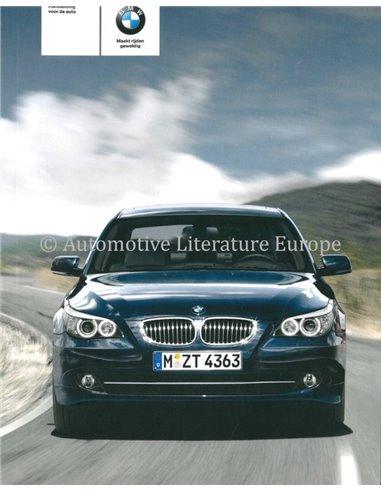 2008 BMW 5 SERIES OWNER'S MANUAL DUTCH