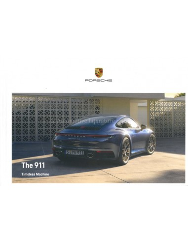 2021 PORSCHE 911 CARRERA & TARGA HARDBACK BROCHURE ENGLISH