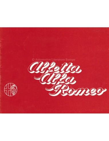 1973 ALFA ROMEO ALFETTA BROCHURE FRENCH