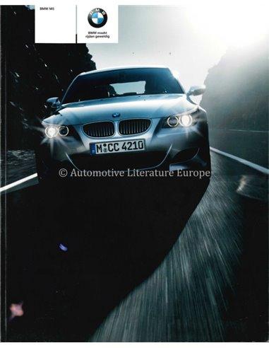 2006 BMW M5 BROCHURE DUTCH