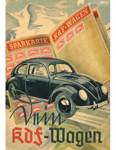 1938 DEIN KDF WAGEN BROCHURE GERMAN