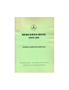 1956 MERCEDES BENZ 190 OWNERS MANUAL HANDBOOK SPANISH