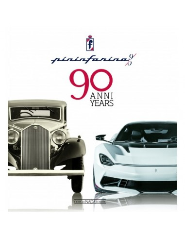 PININFARINA 90 ANNI / 90 YEARS - BOOK