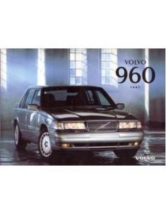 1997 VOLVO 960 INSTRUCTIEBOEKJE NEDERLANDS