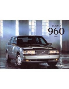 1997 VOLVO 960 OWNERS MANUAL HANDBOOK DUTCH