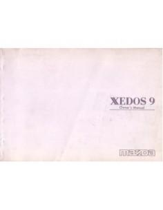 1993 MAZDA XEDOS 9 INSTRUCTIEBOEKJE ENGELS