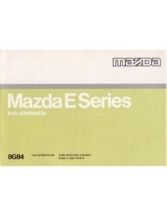 1994 MAZDA E SERIES OWNERS MANUAL HANDBOOK DUTCH