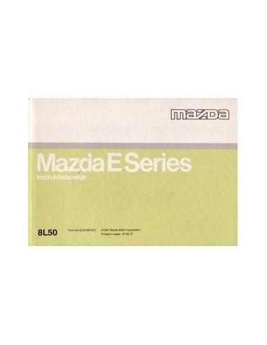 1997 MAZDA E SERIES INSTRUCTIEBOEKJE NEDERLANDS