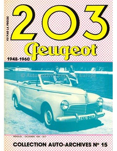 203 PEUGEOT 1948-1960 - BOOK