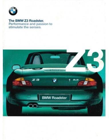 1999 BMW Z3 ROADSTER BROCHURE ENGLISH