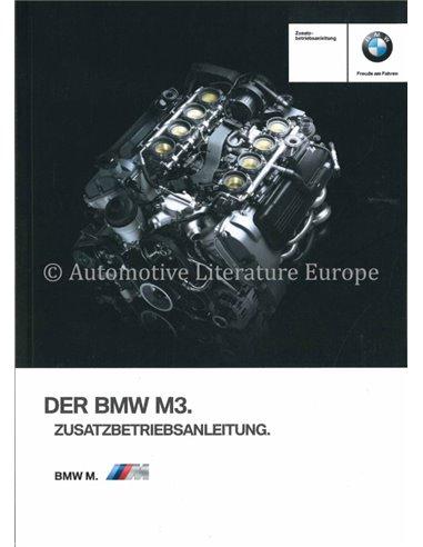 2012 BMW M3 OWNERS MANUAL GERMAN