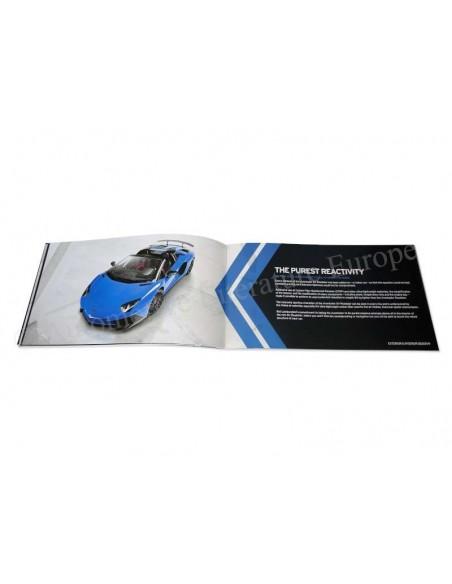 2015 LAMBORGHINI AVENTADOR LP 750-4 SV ROADSTER BROCHURE ENGLISH
