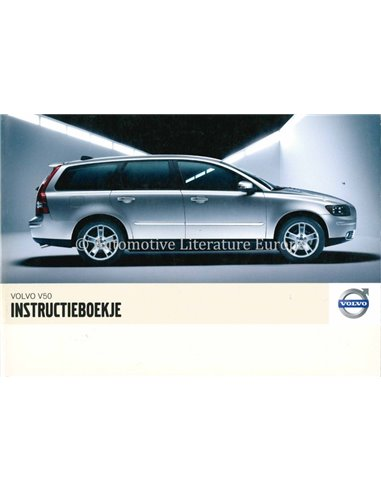 2006 VOLVO V50 OWNERS MANUAL DUTCH