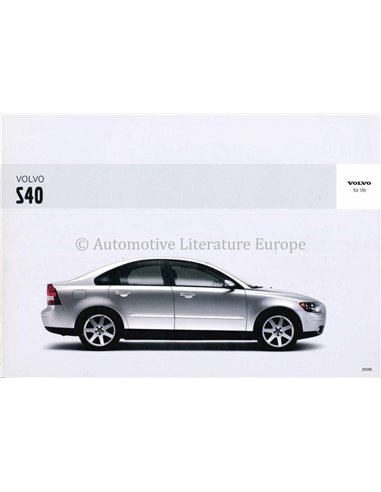 2005 VOLVO S40 OWNERS MANUAL DUTCH