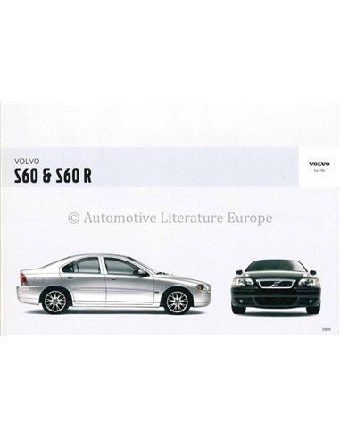 2005 VOLVO S60 R INSTRUCTIEBOEKJE NEDERLANDS