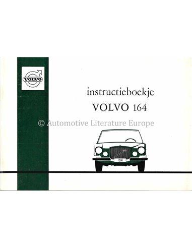 1971 VOLVO 164 OWNER'S MANUAL DUTCH