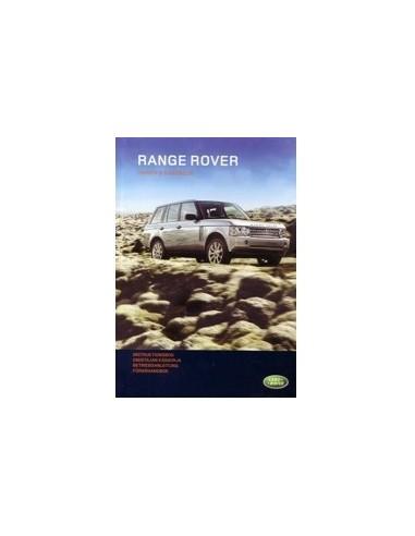 2008 RANGE ROVER INSTRUCTIEBOEKJE DUITS